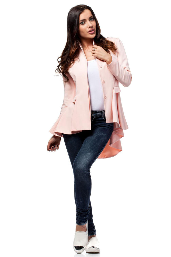 Light Pink MOE Blazers - WOMEN TOPS - NIGEL MARK