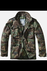 M-65 Classic Field Jacket - Woodland - MEN JACKETS & COATS - NIGEL MARK