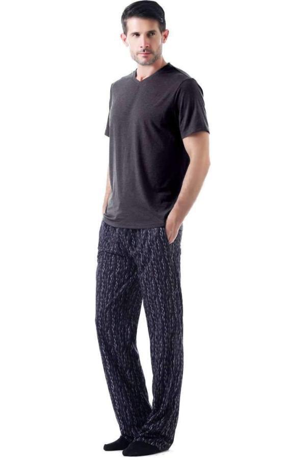 Mad Man Pajama Set - MEN SLEEP & LOUNGE - NIGEL MARK