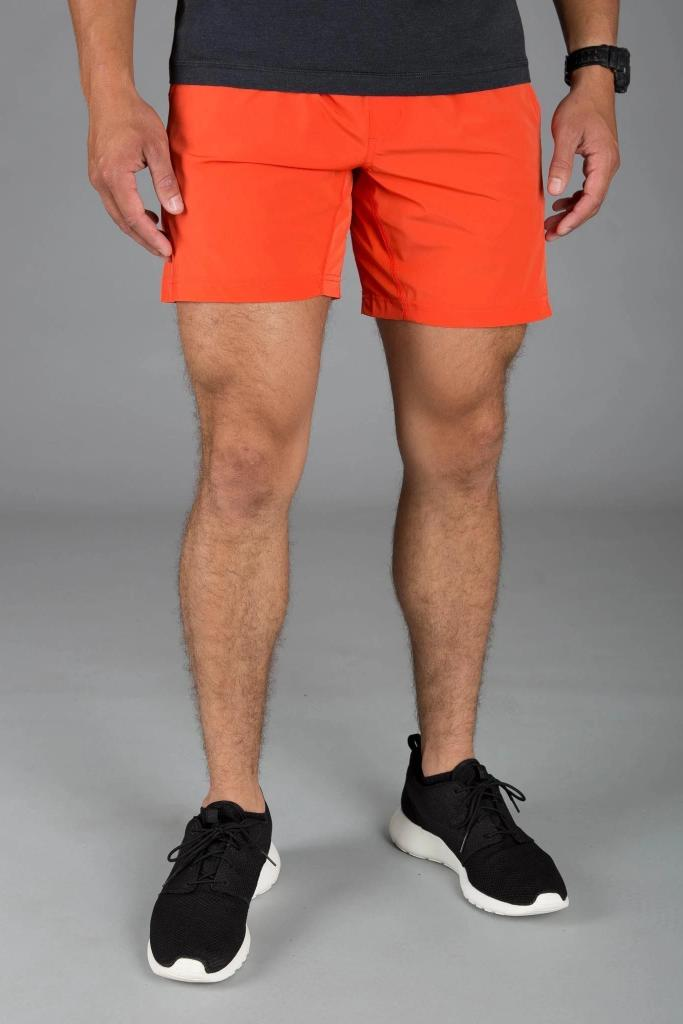 Mako Shorts - Orange - MEN SHORTS - NIGEL MARK