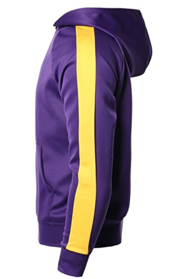 Mamba 24/7 Hoodie - Purple/Yellow - Sweaters & Hoodies - NIGEL MARK