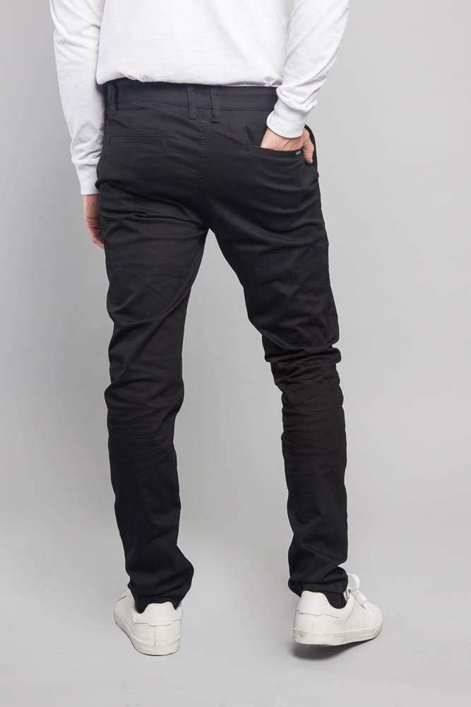 Men's Basic Chino Pants - MEN BOTTOMS - NIGEL MARK