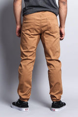 Men's Jogger Twill Pants - Wheat - MEN BOTTOMS - NIGEL MARK