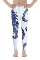 Mens Leggings - Dragon Leggings with Scales - MEN BOTTOMS - NIGEL MARK