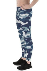 Mens Leggings - Urban Camo Army / Military Pattern - MEN BOTTOMS - NIGEL MARK