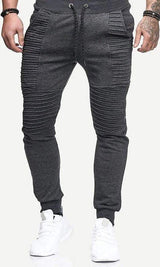 Men's Moto Joggers - MEN BOTTOMS - NIGEL MARK
