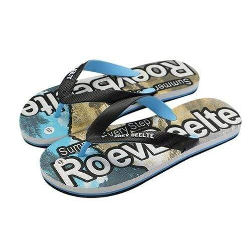 Men's Slippers Summer Flip Flops - MEN SHOES - NIGEL MARK