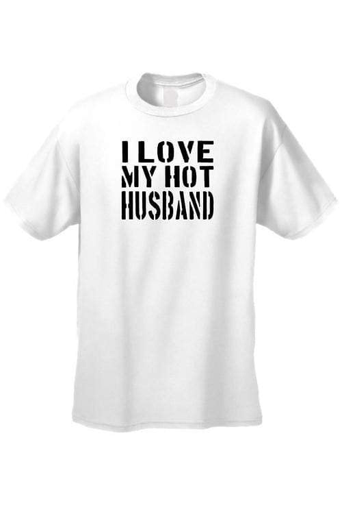 Men's/Unisex I Love My Hot Husband Marriag Sex - MEN TOPS - NIGEL MARK