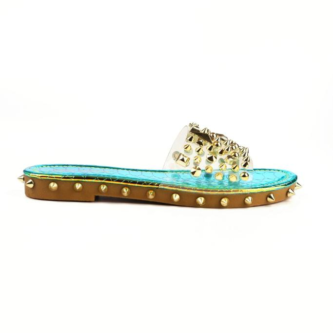 Mermaid Studded Sandals - WOMEN SHOES - NIGEL MARK