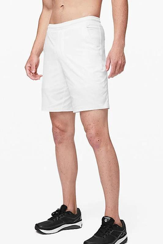 Mesh 9 Inch Shorts - White - MEN SHORTS - NIGEL MARK