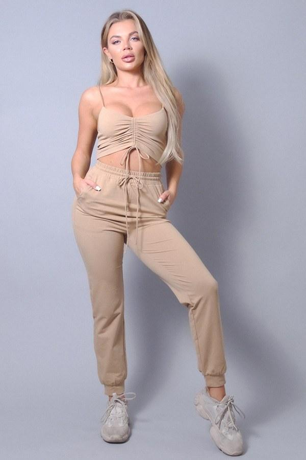 Mocha Comfy Loungewear Set - WOMEN MATCHING SETS - NIGEL MARK