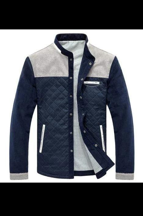 Mountainskin Spring Autumn Men's Jacket Baseball - MEN JACKETS & COATS - NIGEL MARK