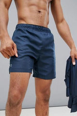 Navy Swim Shorts - MEN SHORTS - NIGEL MARK