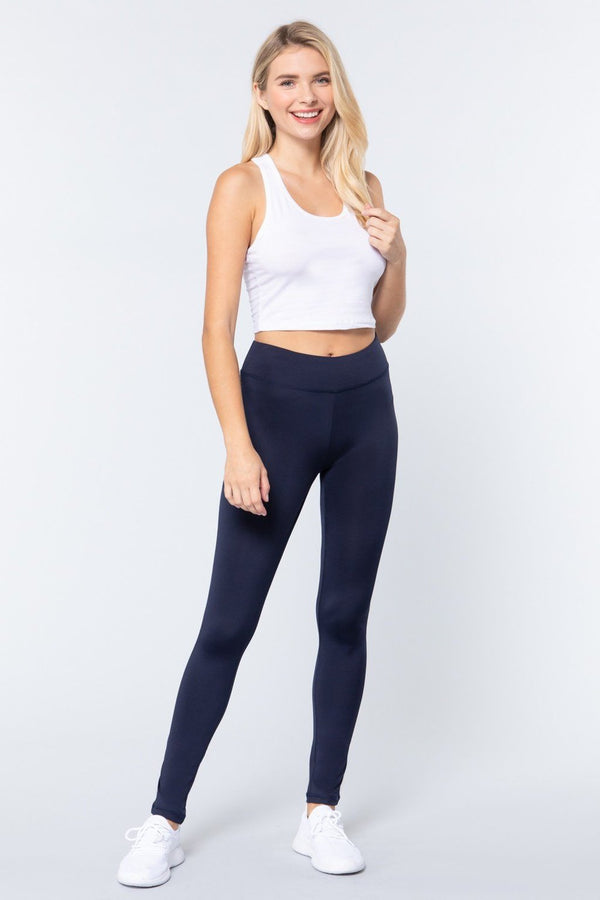 Navy Workout Long Pants - ACTIVEWEAR - NIGEL MARK