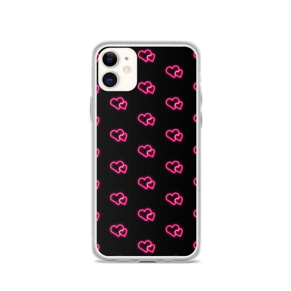 Neon Hearts Case - ACCESSORIES NM BRANDED - NIGEL MARK