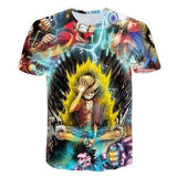 Newest Hipster Anime One Piece Luffy Women Men 3D - MEN TOPS - NIGEL MARK