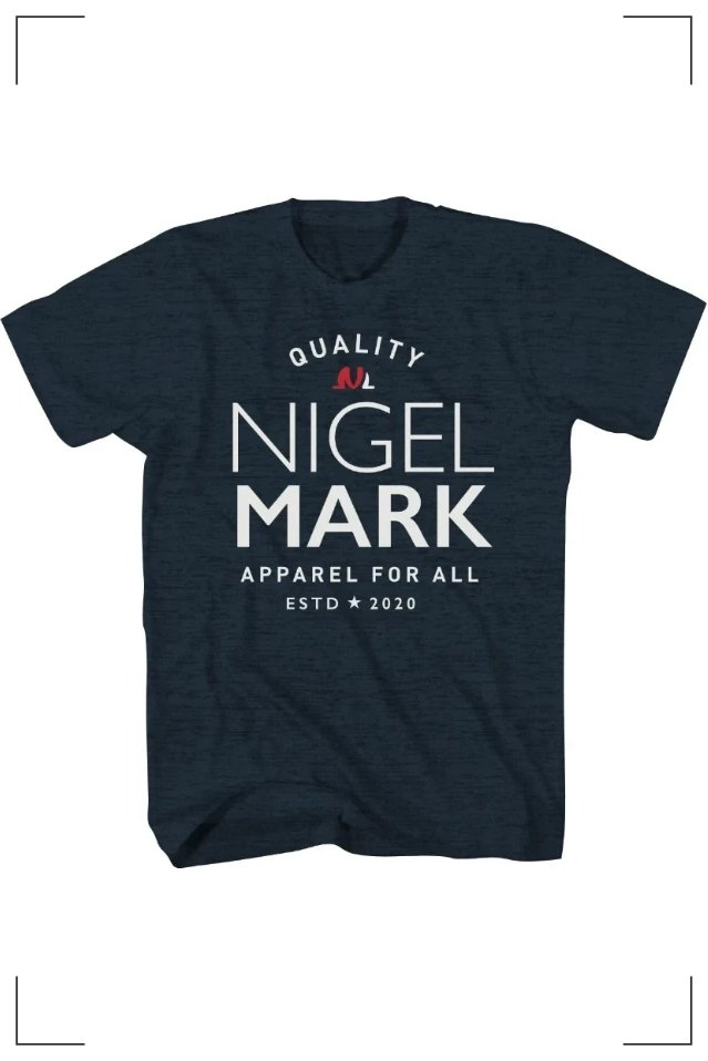 nigel mark branded t shirt