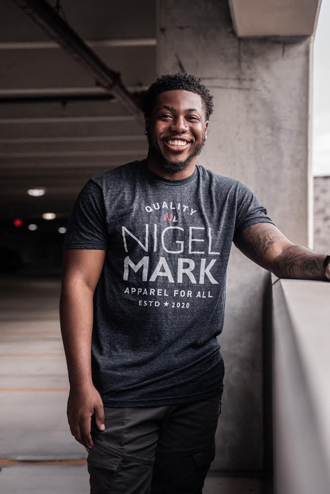 Nigel Mark Quality Tees - Midnight Blue - MEN NM BRANDED - NIGEL MARK