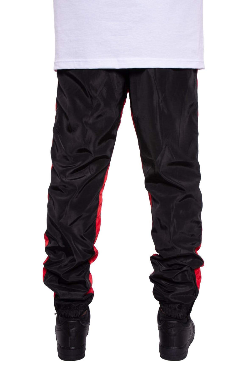 Nylon Color Blocked Track Pants - MEN BOTTOMS - NIGEL MARK