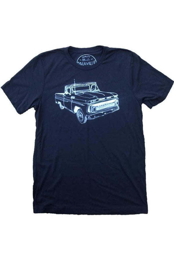 Old Chevy Truck T-Shirt - T-shirts - NIGEL MARK