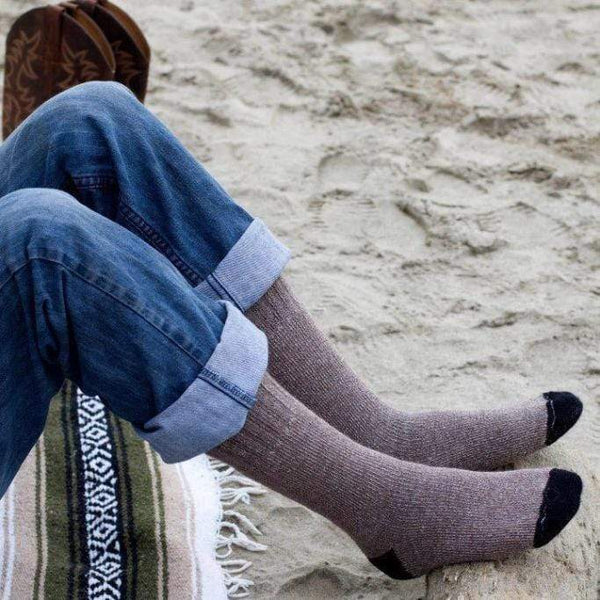 Outdoor Adventure Alpaca Sock - MEN ACCESSORIES - NIGEL MARK
