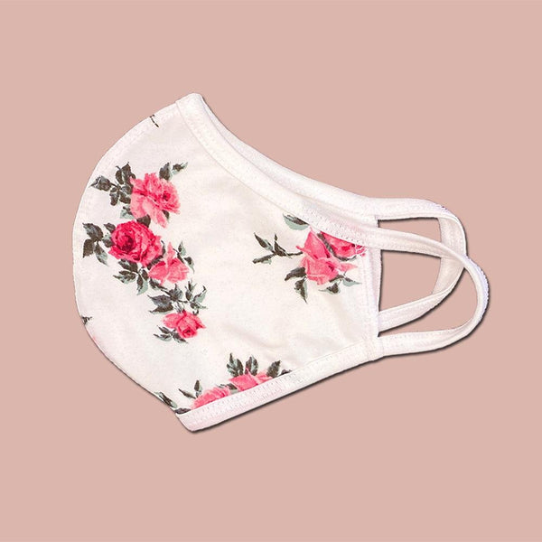 Pack of 25 fashion Floral flower washable reusable fabric face mask - BEAUTY & WELLNESS - NIGEL MARK