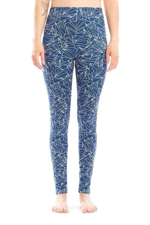 Paper Plane Legging - WOMEN BOTTOMS - NIGEL MARK