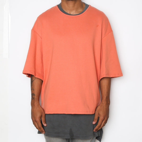 Peach Slouch T-Shirt - T-shirts - NIGEL MARK