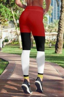 Piet Mondrian Leggings For Women Gym Leggings Yoga - WOMEN BOTTOMS - NIGEL MARK