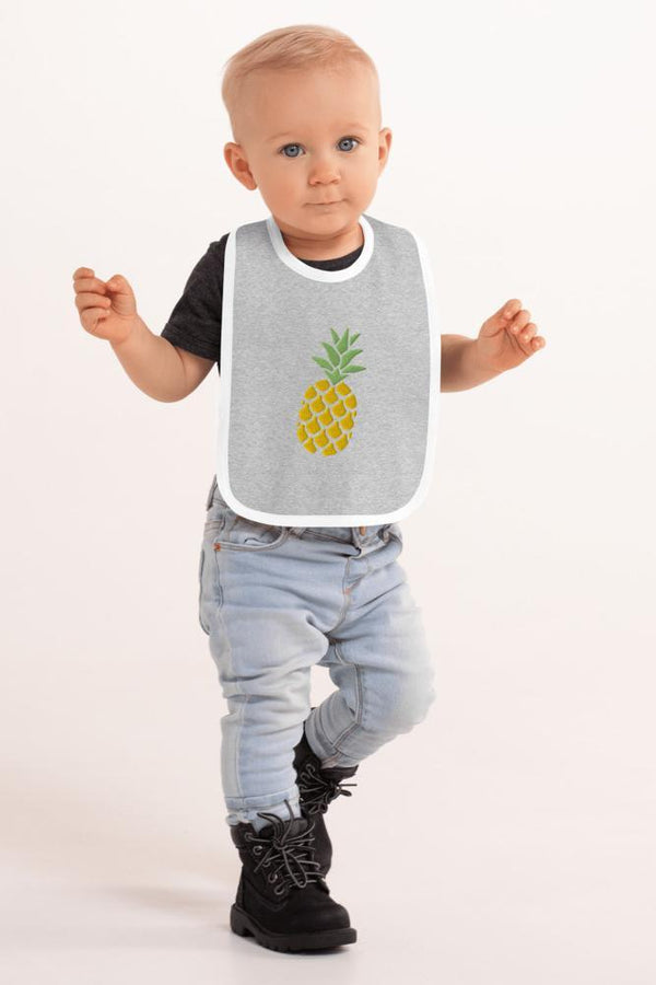 Pineapple Baby Bib - NM BRANDED - NIGEL MARK