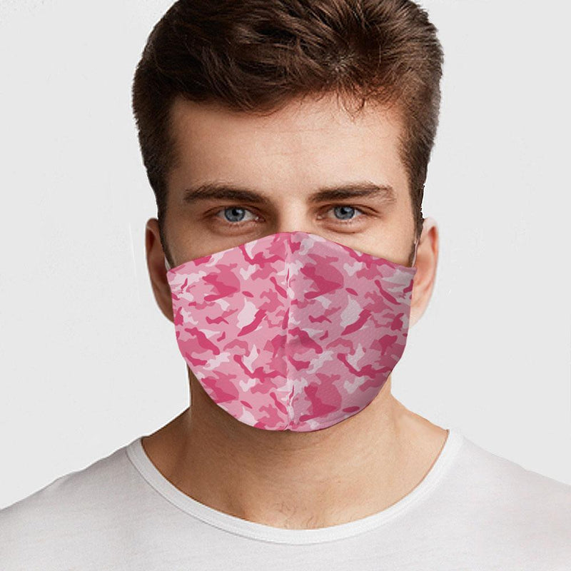 Pink Camo Face Cover - BEAUTY & WELLNESS - NIGEL MARK