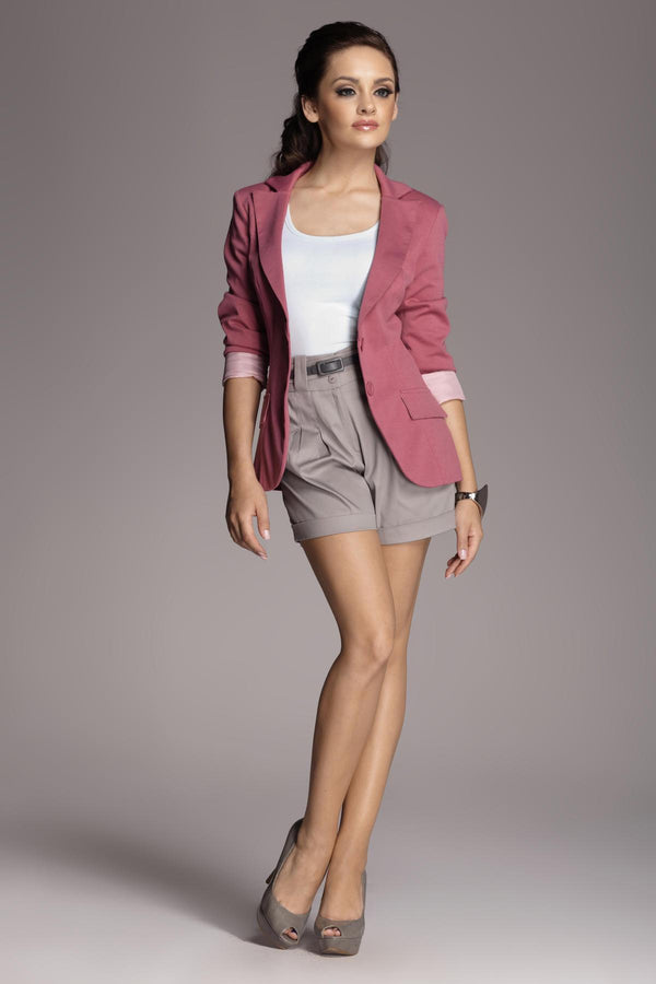 Pink Figl Blazers - WOMEN TOPS - NIGEL MARK