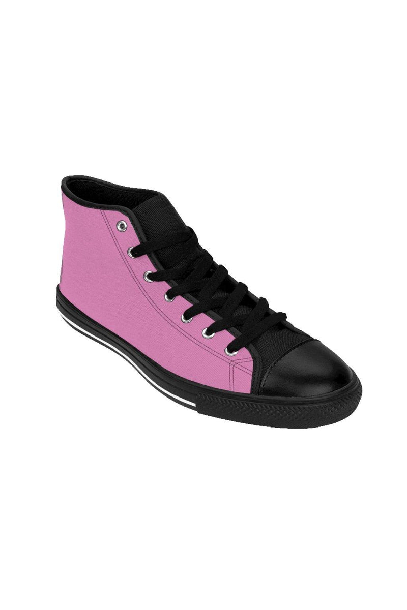 Pink High-Top Sneakers - NM BRANDED - NIGEL MARK