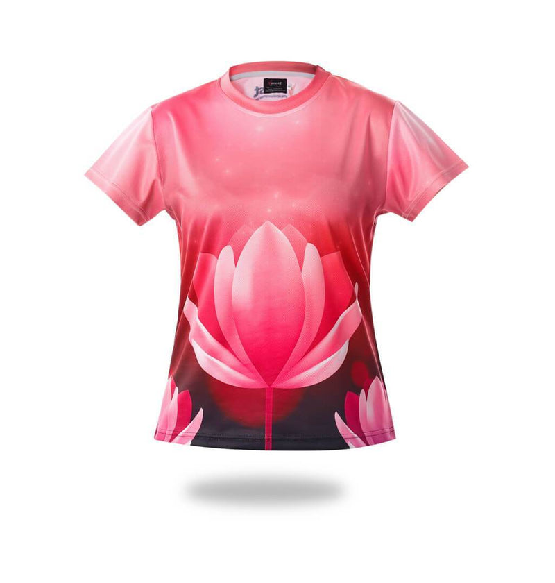 Pink lotus Design Tshirts - MEN TOPS - NIGEL MARK