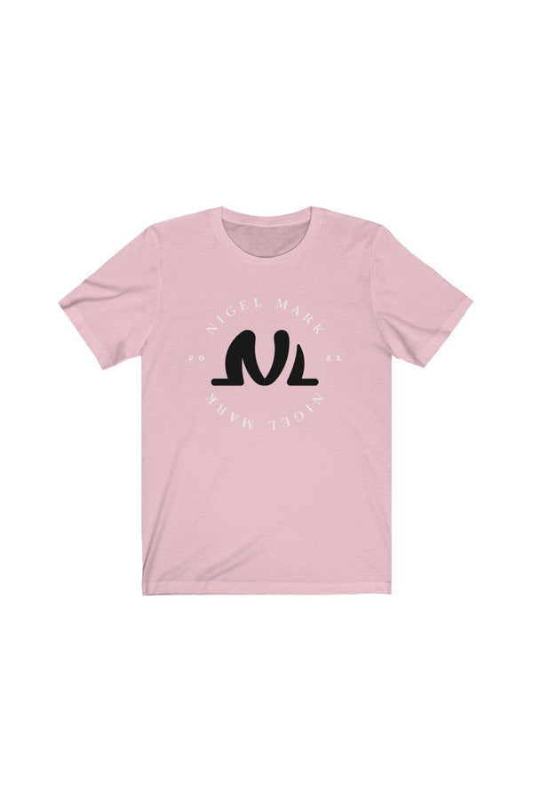 Pink NM Circle Jersey Tee - NM BRANDED - NIGEL MARK