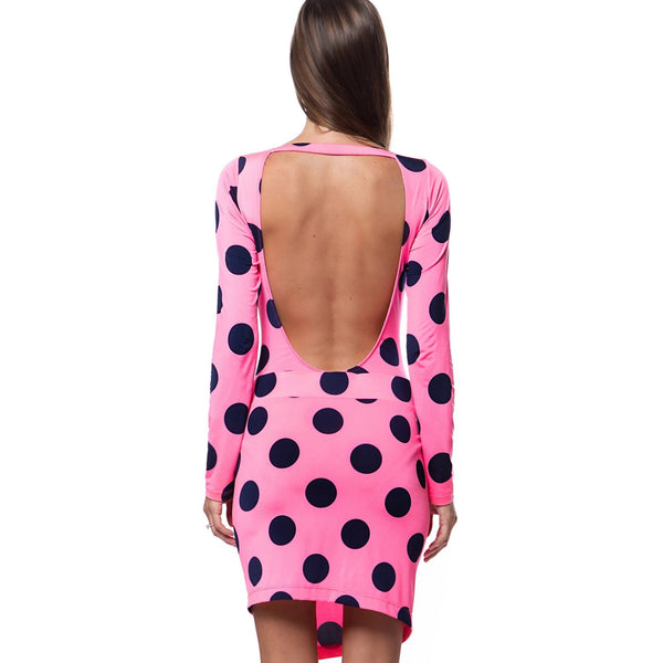 Pink Polka Dot Skirt - Swimwear - NIGEL MARK