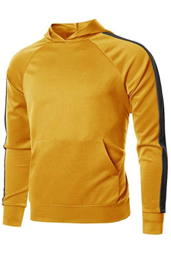 Port Hoodie - Yellow/Black - Sweaters & Hoodies - NIGEL MARK
