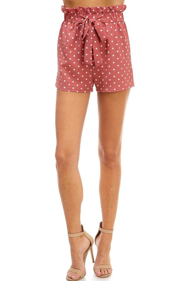 Printed Paperback Shorts - Women's Clothing - NIGEL MARK