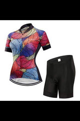 Women Breathable MTB Bicycle Clothing  Triathlon Suit