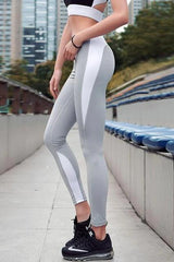 Push Up Outlined Leggings - WOMEN BOTTOMS - NIGEL MARK