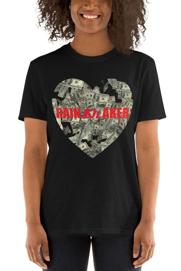 Rainmaker Short-Sleeve Unisex T-Shirt - WOMEN NM BRANDED - NIGEL MARK