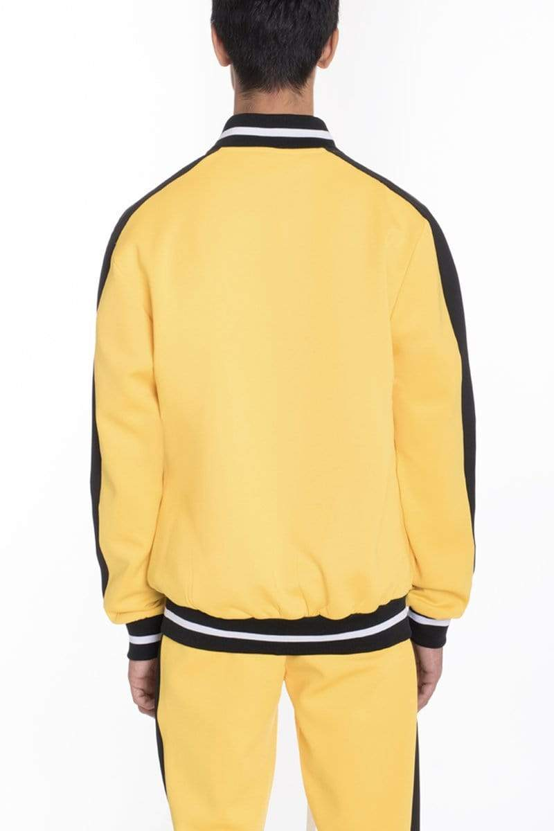 RALLY TRACK JACKET- YELLOW - MEN JACKETS & COATS - NIGEL MARK