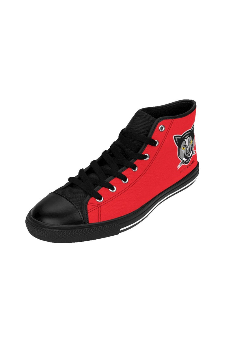 Red NM of Men's High-top Sneakers - NM BRANDED - NIGEL MARK