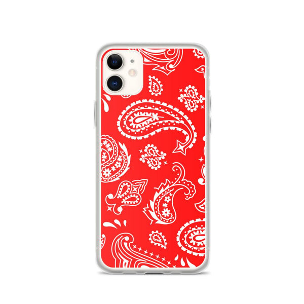 Red Paisley Case - ACCESSORIES NM BRANDED - NIGEL MARK