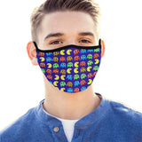 Retro Game Pattern Hand-Made Fabric Face Mask - BEAUTY & WELLNESS - NIGEL MARK
