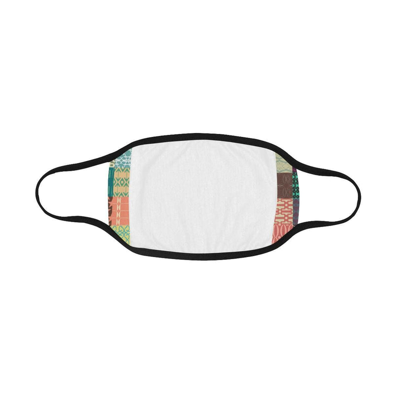Retro Printed Pattern Hand-Made Fabric Face Mask - BEAUTY & WELLNESS - NIGEL MARK