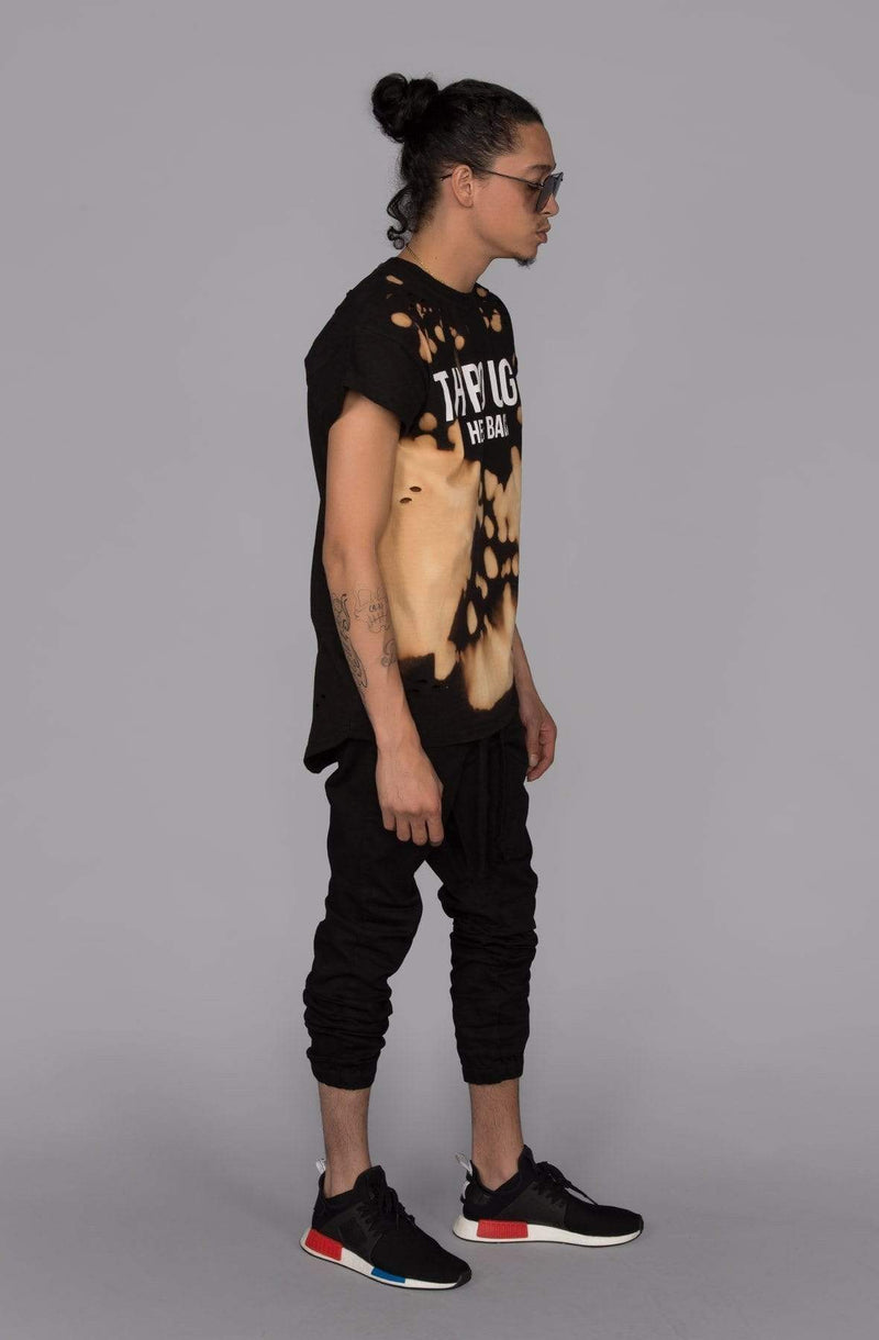 Rich V3 Twill Joggers (Black) - MEN BOTTOMS - NIGEL MARK