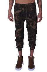 Rich V3 Twill Joggers (Camo) - MEN BOTTOMS - NIGEL MARK