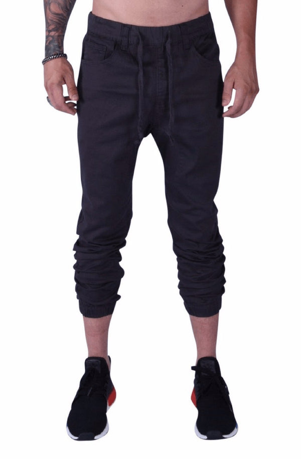 Rich V3 Twill Joggers (Charcoal) - MEN BOTTOMS - NIGEL MARK