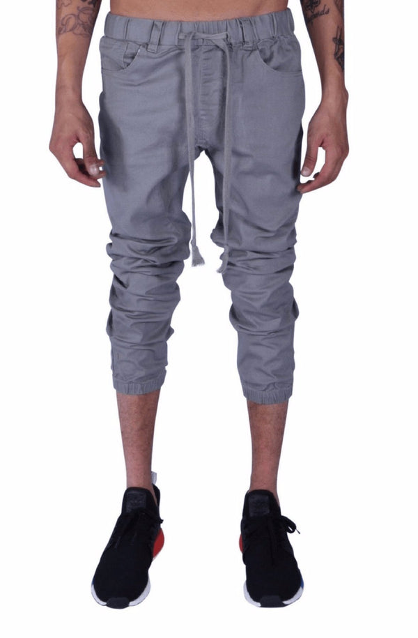 Rich V3 Twill Joggers (Grey) - MEN BOTTOMS - NIGEL MARK